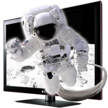 LG 47LK950S 119 cm 47 Zoll LCD Fernseher schwarz Bild 1