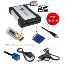USB SD CD-Wechsler Ersatz, ALFA FIAT LANCIA, miniISO Anschluss von Bluebird Bild 1