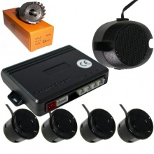 Einparkhilfe 4 Sensoren mit Lautsprecher von Tecwo Bild 1