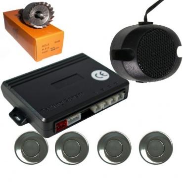 Einparkhilfe 4 Sensoren mit Lautsprecher Bild 1
