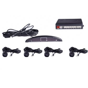 Einparkhilfe mit Farb-Display und integriertem Pieper inkl. 4 Sensoren, electronics Bild 1