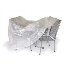 Abdeckhaube für Gruppe 300x200cm oval transparent Bild 1