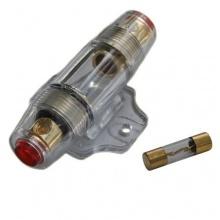 Auto kfz 12v Endstufe Verstärker Sicherungshalter und 60A gold Sicherung AGU Bild 1