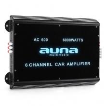 Auna 6-Kanal Auto-Endstufe Autoverstärker 6000W max.,540W RMWS, 6 Kanal Bild 1