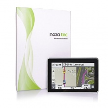 Noza Tec 5 Zoll Auto PKW KFZ GPS Navigationsgerät  Blitzerwarnung EU Karten POI FM 16GB Bild 1