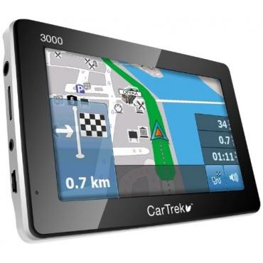 CarTrek 3000 Auto Navigationsgerät 10,9 cm Touchscreen, TMC, 64MB FlashSpeicher, GPS Bild 1