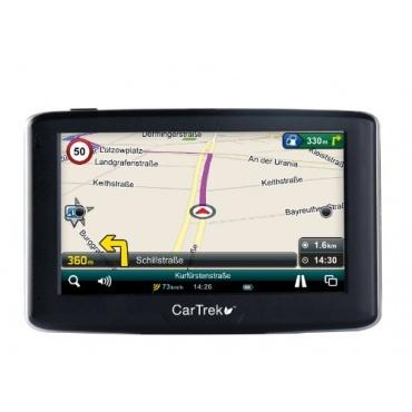 CarTrek 2500 Auto Navigationsgerät 10,9 cm Touchscreen, 128MB Flash Speicher, GPS Bild 1