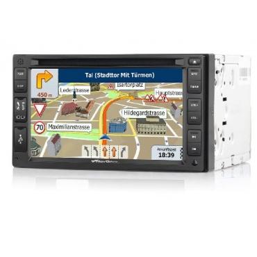 NavGear PX-2857-906 StreetMate DSR-N 62 Navigationsgerät mit Kfz-Radio 15,2 cm  Bild 1