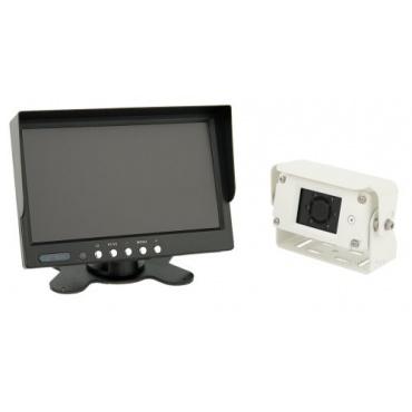 Premium 7ZollFarb- Rückfahrsystem mit IP68 Rückfahrkamera von VSG Bild 1