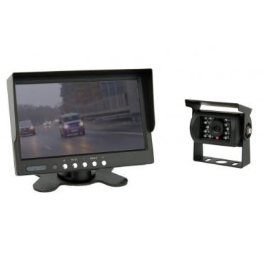7 Zoll TFT Farb-Monitor Farb-Kamera IP67 Rückfahrkamera von VSG Bild 1