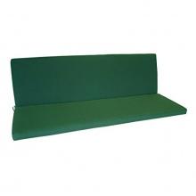 Bankauflage 3 sitzer 140x88cm dunkelgrün Bild 1