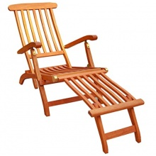 KMH® Deckchair aus Eukalyptusholz Bild 1