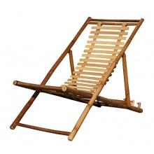 KMH® Deckchair aus Bambus  Bild 1