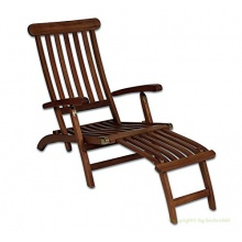 Deckchair Indaka Akazienholz Bild 1