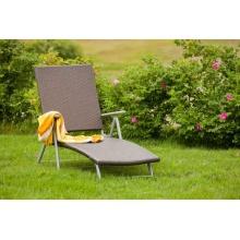 Merxx Deckchair mit Kunststoffgeflecht Bild 1