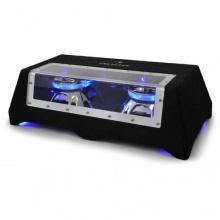 Auna CB25050 Subwoofer 2x 25cm Lichteffekt 1600 Watt Bild 1