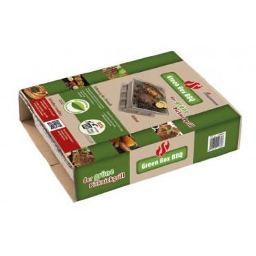 Landmann Einweggrill Green Box, Mehrfarbig, 24 x 30,5 x 7,5 cm Bild 1