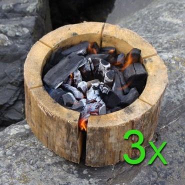 3er Set Einweggrill EcoGrill  Bild 1