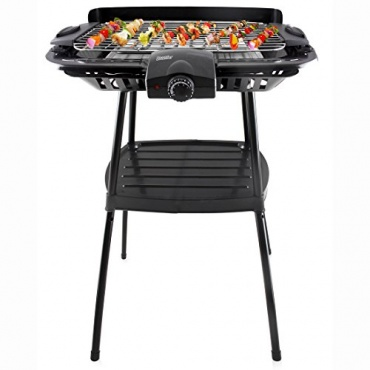 bruzzzler bbq elektrogrill standgrill 2000 watt test. Black Bedroom Furniture Sets. Home Design Ideas