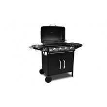 Edelstahl Gasgrill Grill Grillwagen Barbecue BBQ 4+1 von vidaXL Bild 1