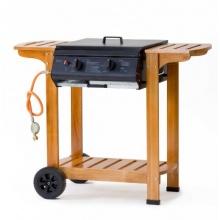 Tepro Gasgrill, Grillwagen mit Holzgestell Pittsburgh Bild 1