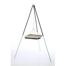 original ungarisches Dreibein 1,80 m mit Grillrost 60 cm, Grillstelle von acerto Bild 1