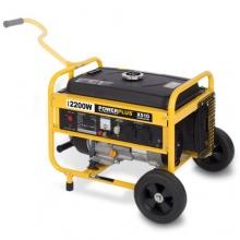 Powerplus Mobiler benzinbetriebener Stromgenerator, Generator Bild 1