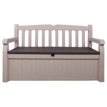 gartenbank eden mit kissenbox test. Black Bedroom Furniture Sets. Home Design Ideas