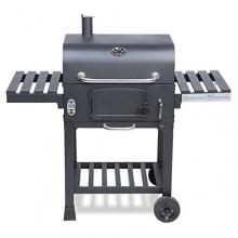 XL Smoker BBQ GRILLWAGEN Holzkohlegrill von Clictrade Bild 1