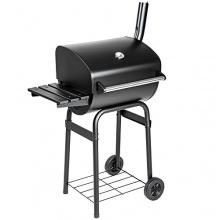 TecTake BBQ Holzkohlegrill Barbecue Smoker mit Temperaturanzeige Bild 1