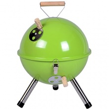 Mini BBQ-Grill Holzkohle Kugelgrill von Nexos Trading Bild 1