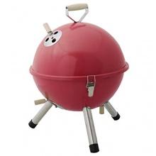 Mini BBQ Grill Holzkohle Kugelgrill Picknickgrill von FDS Bild 1