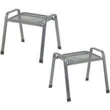 Gartenhocker Stahl  Bild 1