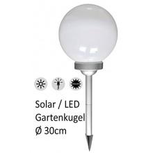 Große Bonetti Solar Gartenkugel, Ø 30cm Bild 1