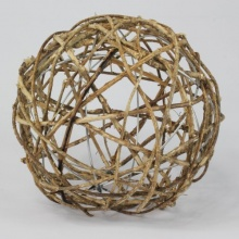 Dekokugel Rattan Kugel Gartenkugel Rankhilfe 20 cm Bild 1