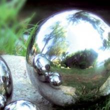 Brema 123.640 Edelstahl-Gartenkugel 25 cm Bild 1