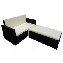 Poly Rattan Garten Garnitur Möbel Essgruppe Lounge Sofa Stuhl Sessel Sitzgruppe Bild 1