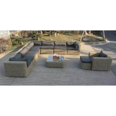 gartenlounge rattan test. Black Bedroom Furniture Sets. Home Design Ideas