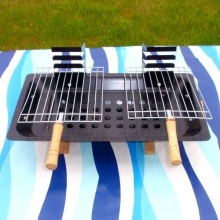 Tischgrill Barbecue-Grill Holzkohlegrill Campinggrill von SN-Import Bild 1