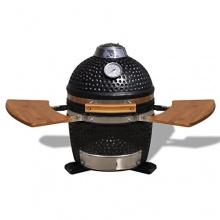 Kamado Barbecue Grill Räucherofen Keramik 44 cm, Tischgrillvon vidaXL Bild 1