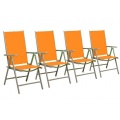 4er Set Gartenstühle Bild 1