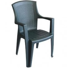 Gartenstühle 2 Stück Grün Bild 1