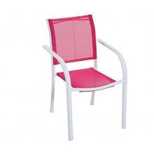 Dehner Gartenstuhl pink Bild 1