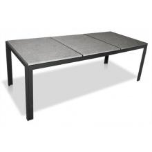 KMH® Gartentisch mit 3 Granitplatten 220x95 Bild 1