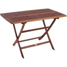 Gartentisch 120x70cm Holz Bild 1