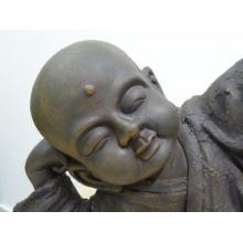 point-garden Buddha Mönch Gartenfigur liegend Bild 1