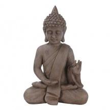 Deko Buddha sitzend H53cm Dekofigur Gartenfigur Bild 1