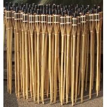 18 Stück Gartenfackeln Bambus Fackel Öllampen Bild 1
