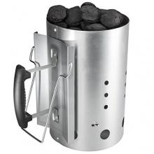 Bruzzzler Anzündkamin mit Sicherheitsgriff, Grillanzünder Brennsäule 30 x 19cm Bild 1