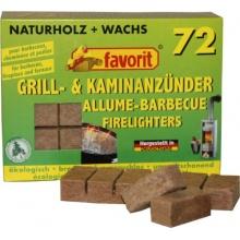 favorit 1828 Grill- und Kaminanzünder, 72-er Pack Bild 1